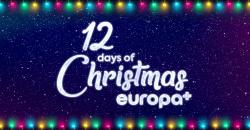 Banner de 12 días de Navidad en Europa+
