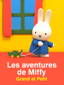 Les aventures de Miffy grand et petit poster