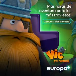 Vic the Viking poster